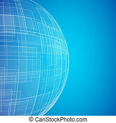 pianeta blu, icona