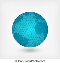 pianeta blu, rete