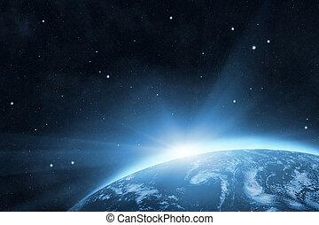 pianeta blu, terra