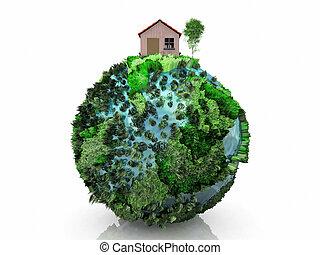 pianeta, casa, poco
