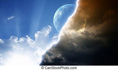 pianeta, cielo