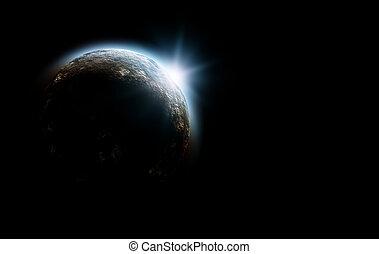 pianeta, cosmo