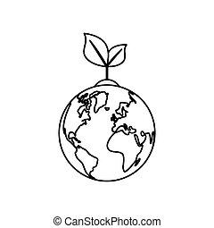pianeta, ecologia, verde