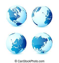 pianeta, mondo, globale, terra, icona
