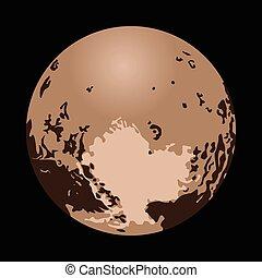 pianeta, nano, plutone