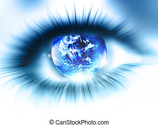 pianeta, occhio