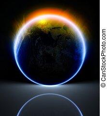 pianeta, riflessione