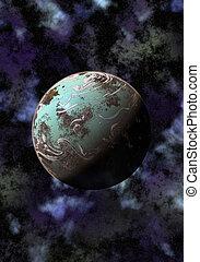 pianeta, sconosciuto