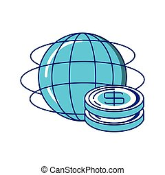 pianeta, soldi, monete