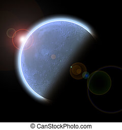 pianeta, sole, salita