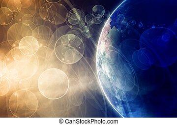 pianeta, spazio