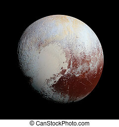 pianeta, spazio, sistema, plutone, solare, isolato