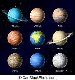 pianeti, sistema solare