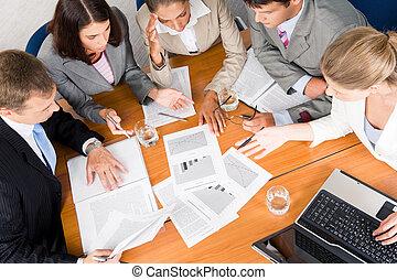pianificazione, affari