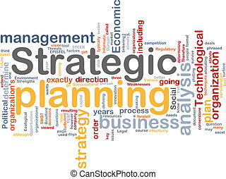pianificazione, parola, nuvola, strategico
