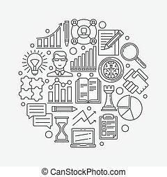 pianificazione, strategia, affari