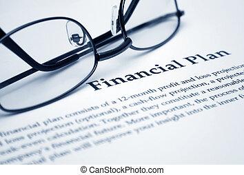 piano, finanziario