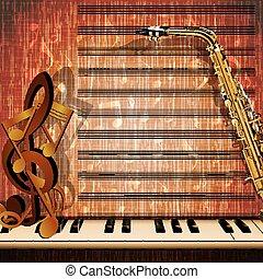 pianoforte, note, chiavi