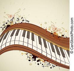 pianoforte, note