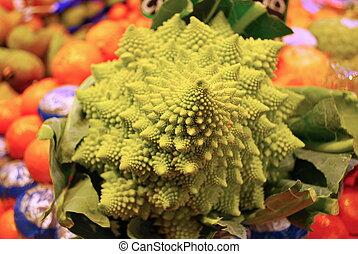 pianta, fractal
