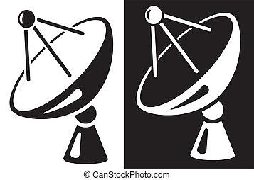 piatto, pietanza, satellite