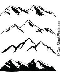 picchi montagna