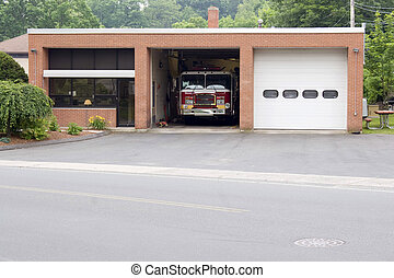 piccolo, caserma dei pompieri