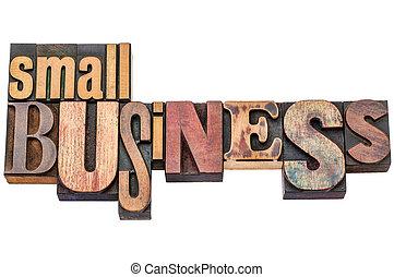 piccolo, legno, tipo, tipografia, affari