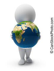 piccolo, people-earth, 3d