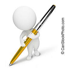 piccolo, people-pen, 3d