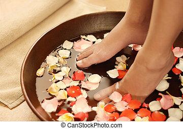 piede, terme, aromatherapy