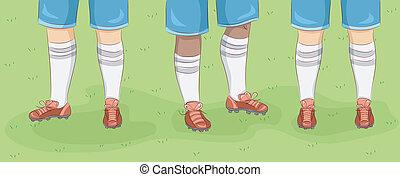 piedi, rugby