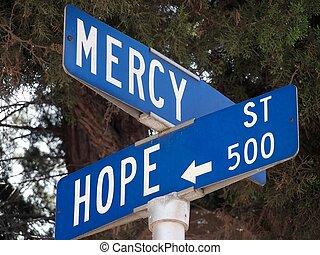 pietà, speranza