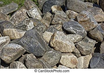 pietra, ciottoli, fondo