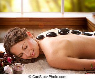 pietra, dayspa, terme, salon., massage.