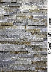 pietra, o, mattone, fondo, marmo