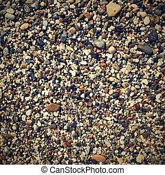 pietre, piccolo, astratto, fondo, colorito
