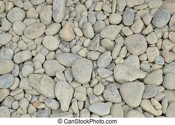 pietre, rotondo, fondo, piccolo, bianco, ciottolo