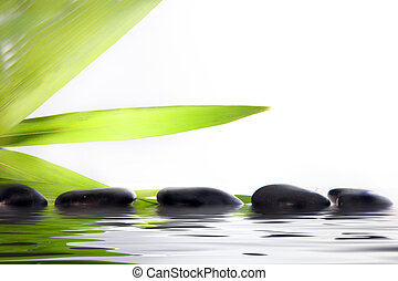 pietre, terme, acqua, massaggio
