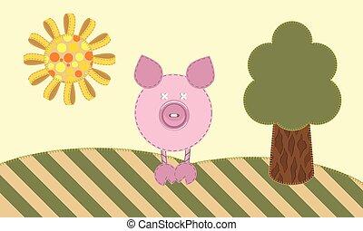 pig., carino