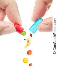 pillola, vitamina