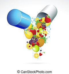 pillola vitamina