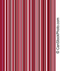 pinstripe, sfondo rosso