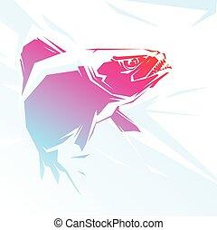 piranha, rosso
