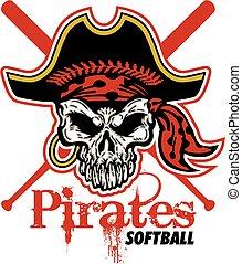 pirati, softball