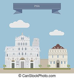 pisa, italia, centrale