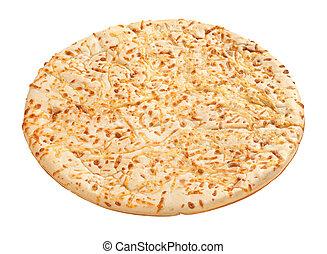 pizza, ritaglio, crosta, path), (with