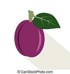 plum., frutta, succoso, maturo