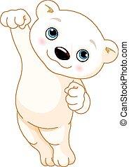 polare, saltare, orso