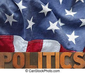 politica, americano